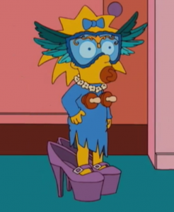 The Simpsons <3 Lady Gaga