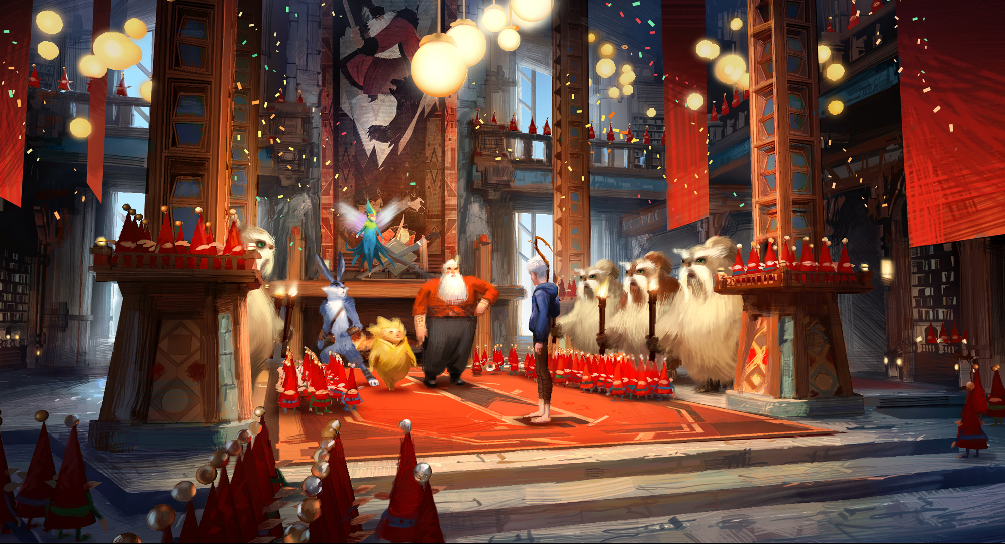 Rise Of The Guardians Pitch And Sandy