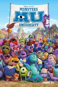 "Stiri animatie: Poster nou ""Monsters University"""