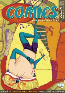 Stiri BD: Revista COMICS nr.15 (martie 2013)