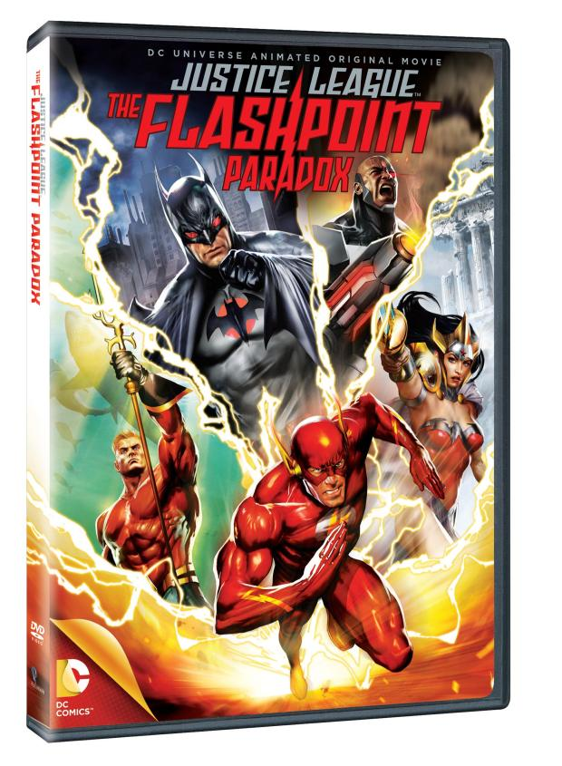 Justice League The Flashpoint Paradox cover 1