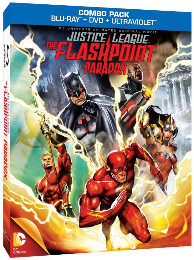 Justice League The Flashpoint Paradox cover 2