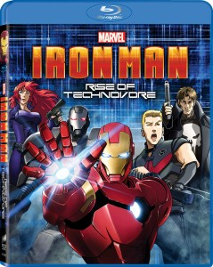 Stiri Animatie: S-a lansat Iron Man: Rise of the Technovore (anime)