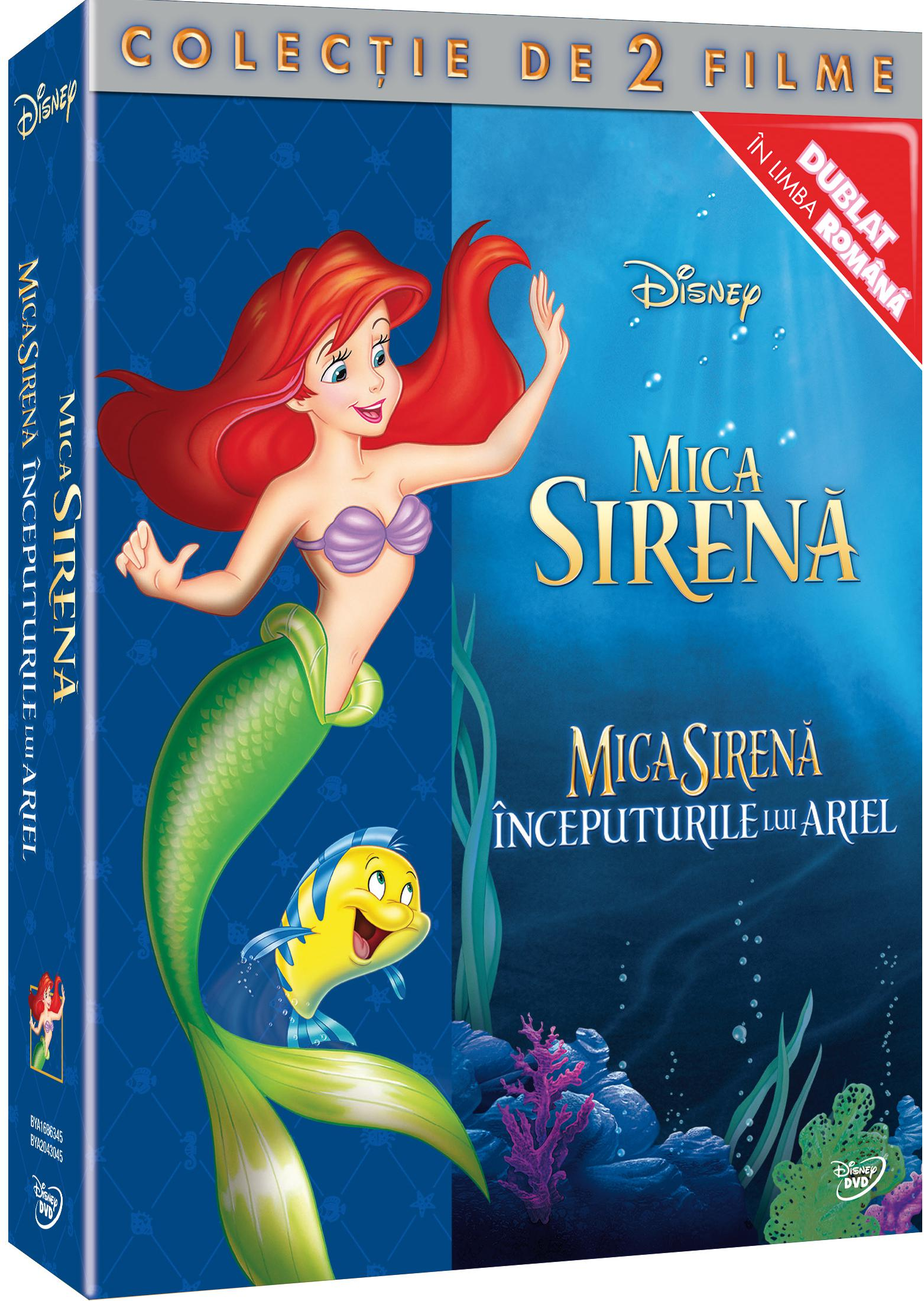 Box Little Mermaid