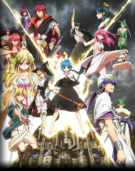 -Magi-The-Kingdom-of-Magic-Poster