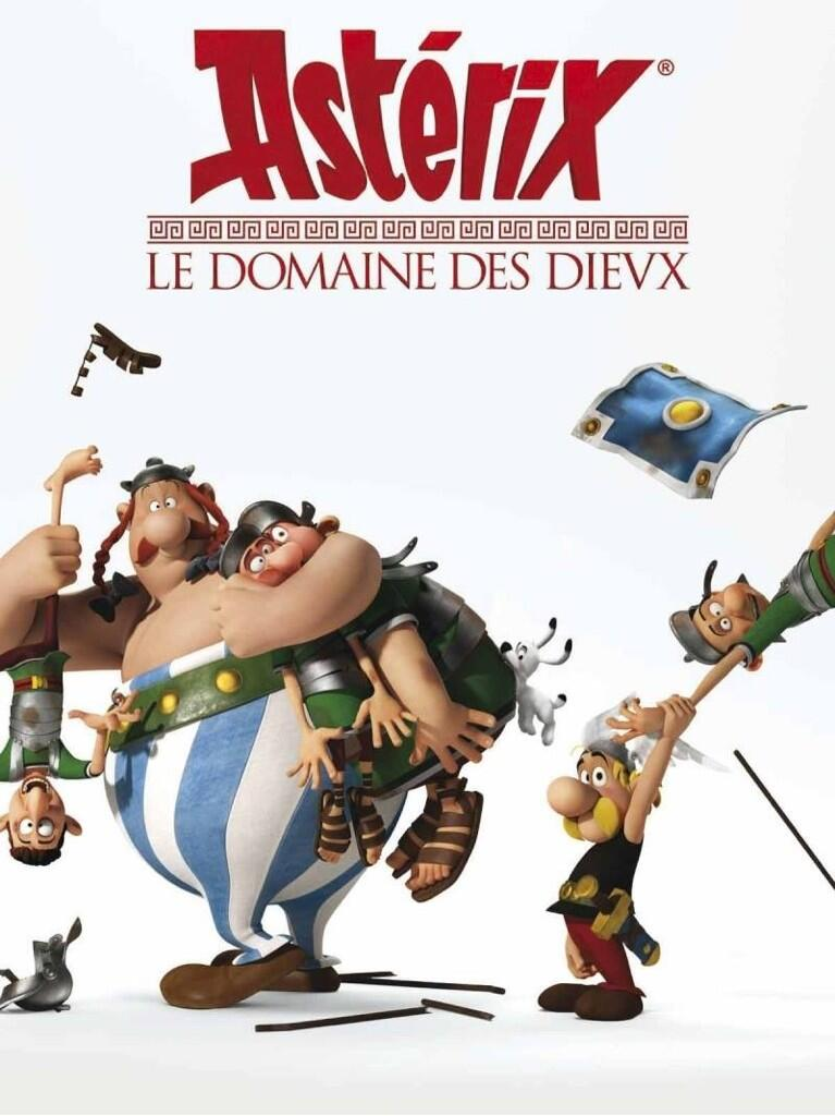 Asterix The Mansions of the Gods poster