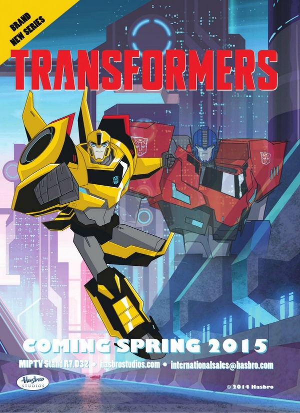 First Look at  2015 Optimus Prime From New Transformers Cartoon Image (1)__scaled_600