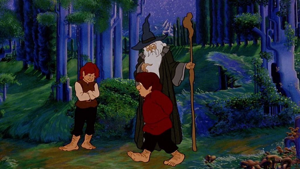 the lord of the rings animat 1978