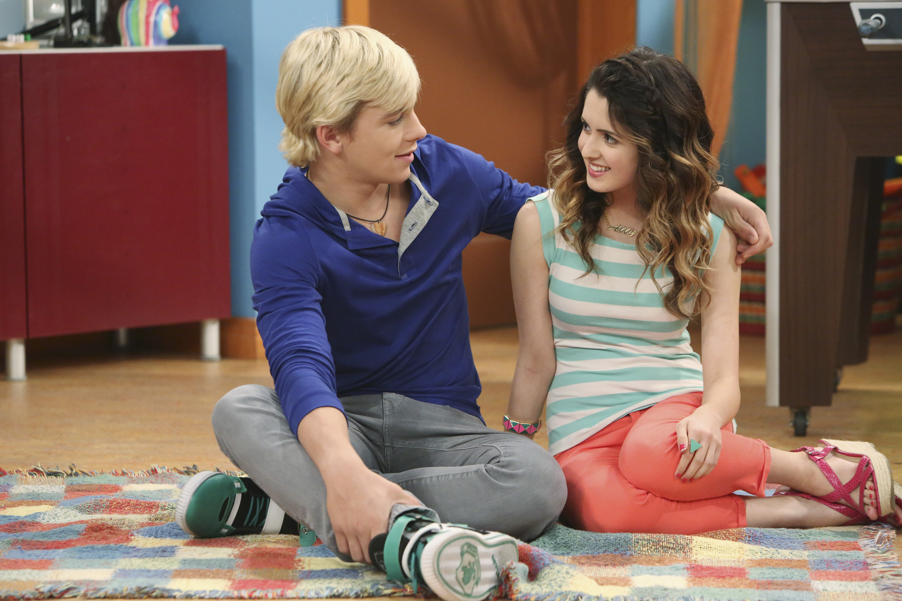 ROSS LYNCH, LAURA MARANO