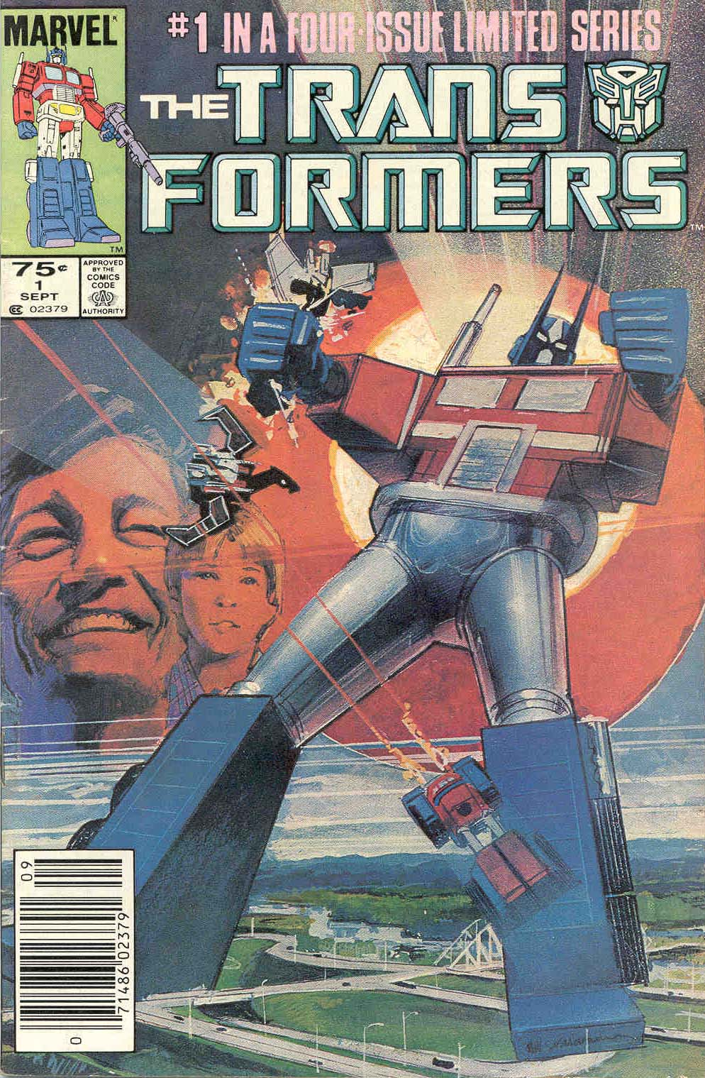 Transformers #1 cover 1984