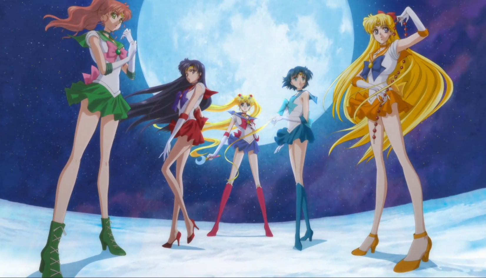 sailor moon trailer