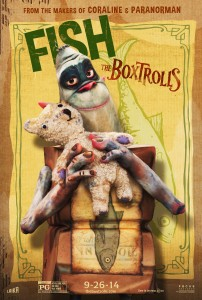 "Postere si eveniment ""The Boxtrolls"""