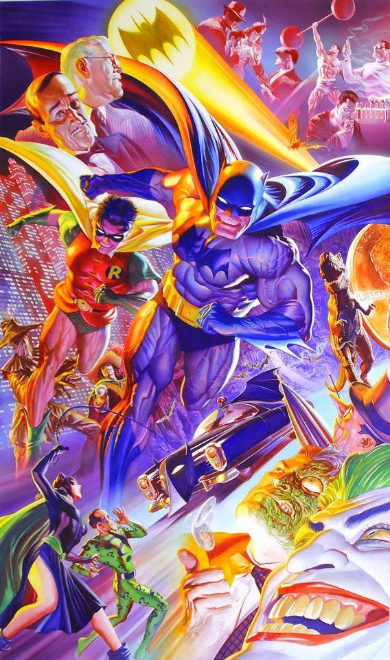 alex ross batman 75th