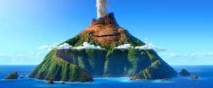 "Prima imagine din short-ul Pixar ""Lava"""