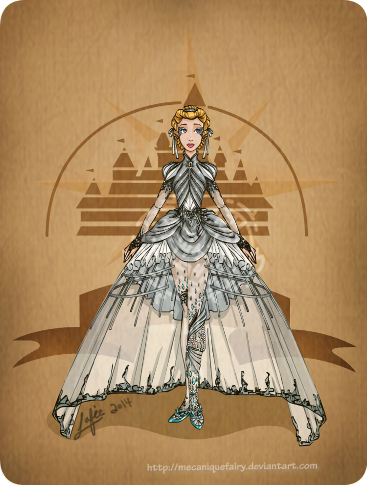 disney_steampunk__cinderella_by_mecaniquefairy