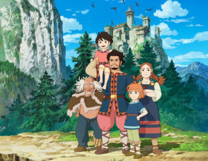 "Clip Studio Ghibli ""Ronja the Robber's Daughter/Sanzoku no Musume Ronia"""