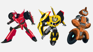 "Trailer ""Transformers Robots in Disguise"""