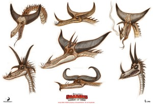 Concept Art: How to Train Your Dragon: Riders of Berk