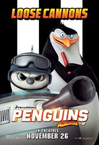 "Postere ""Penguins of Madagascar"""