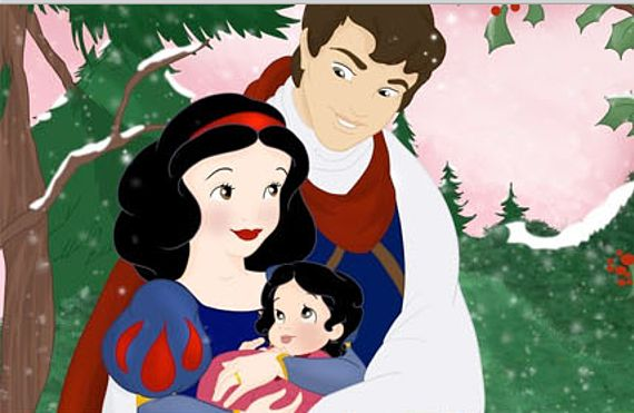 snowwhite-this-artist-shows-us-what-the-disney-couples-kids-would-look-like-adorable