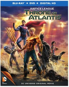 "Avem o data pentru ""Justice League: Throne of Atlantis"""
