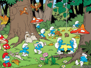 Filmul 100% animat The Smurfs (Strumfii) are un prim actor