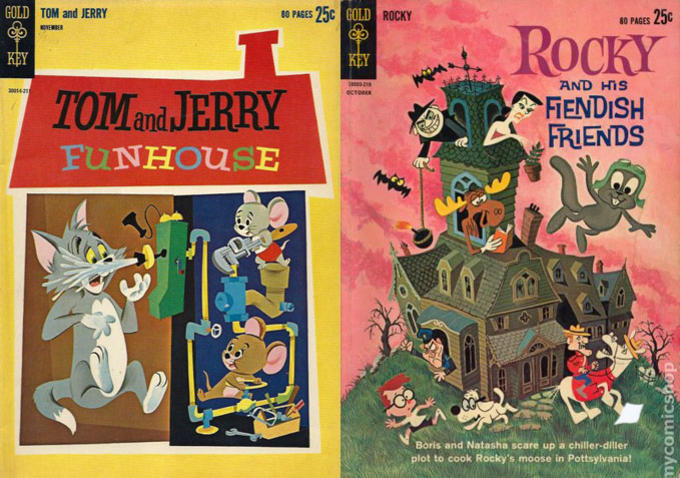 Tom and jerry Little Golden Books