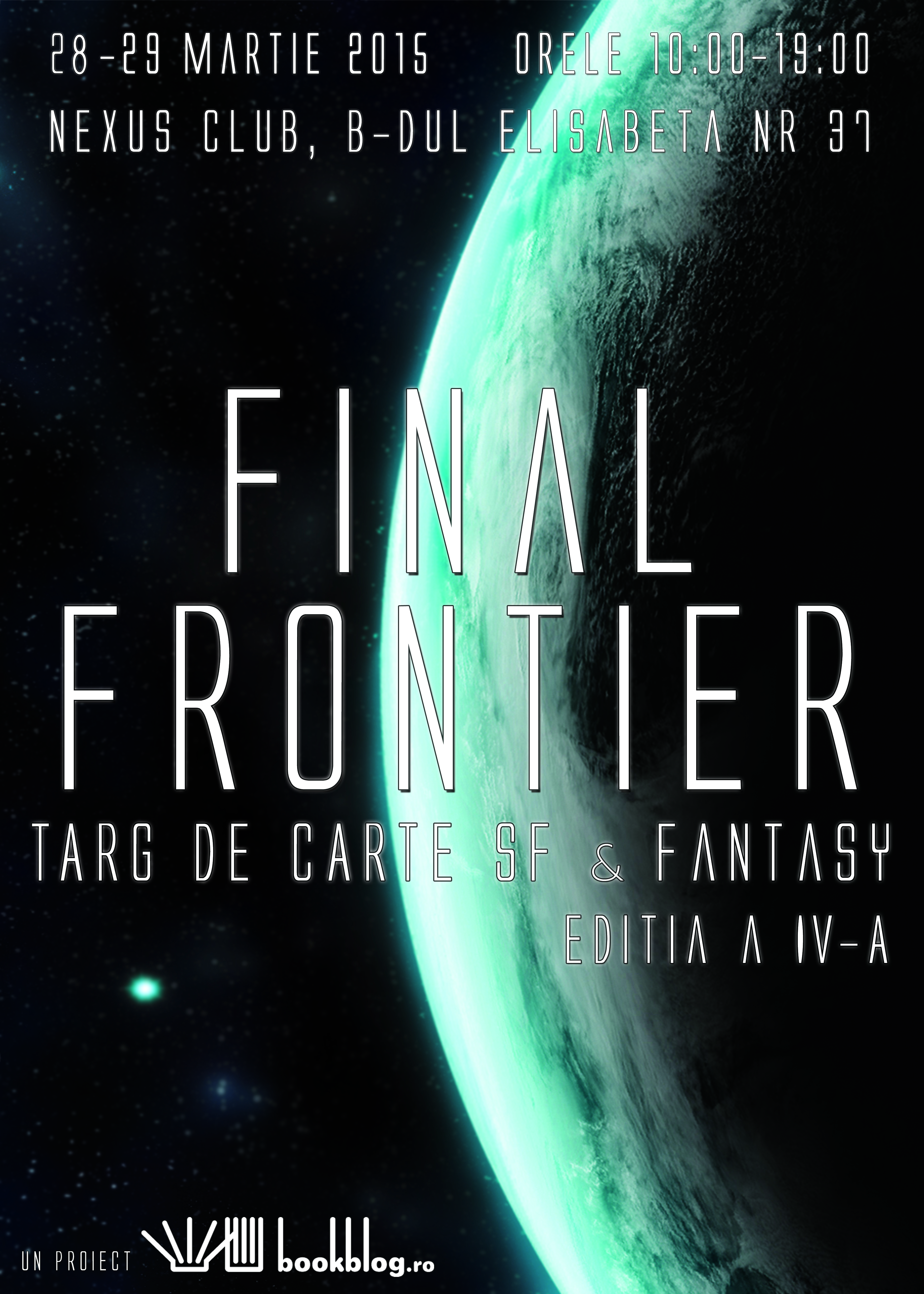 Afis Final Frontier 2015