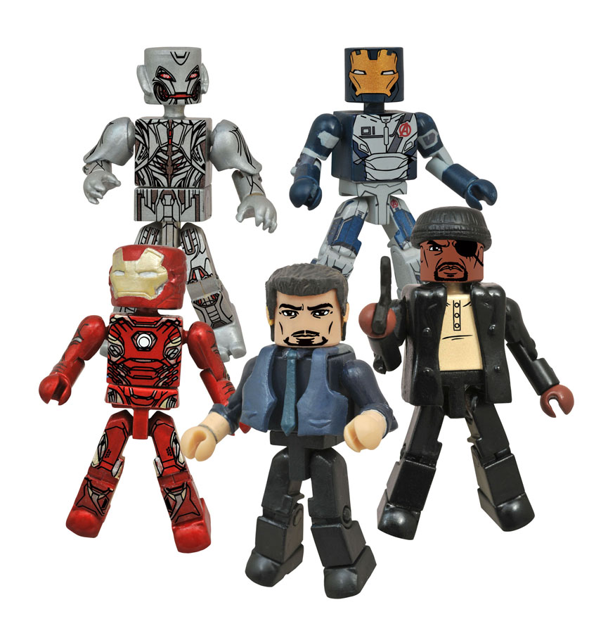 Avengers Age of Ultron Minimates Exclusive Box Set