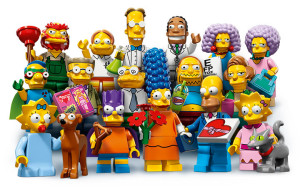 Seria doi din LEGO The Simpsons Minifigures este disponibila