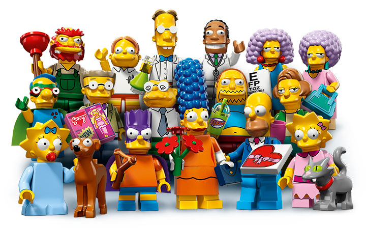 Lego The Simpsons