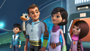 Disney Junior lanseaza un nou serial animat – Miles in spatiu
