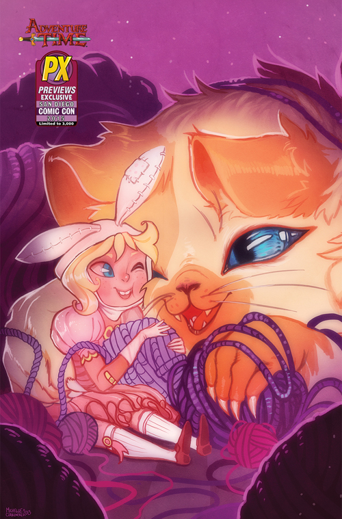 SDCC 2015 ADVENTURE TIME FIONNA & CAKE CARD WARS #1