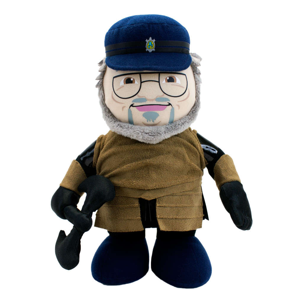 George R.R. Martin Deluxe Talking Plush