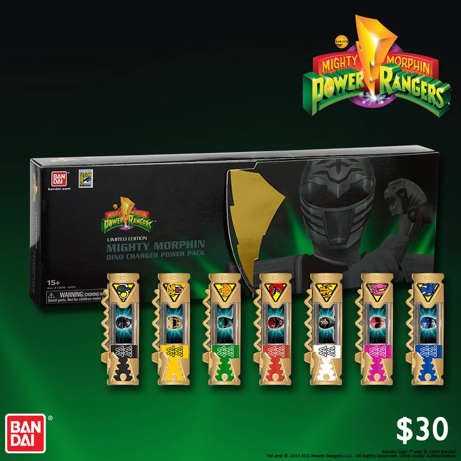 Mighty Morphin Power Rangers Dino Charger Power Pack