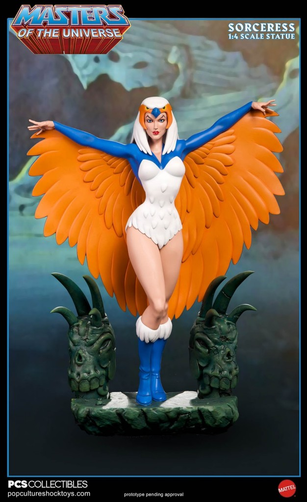 Pop Culture Shock Collectibles Masters of the Universe Sorceress Statue 04