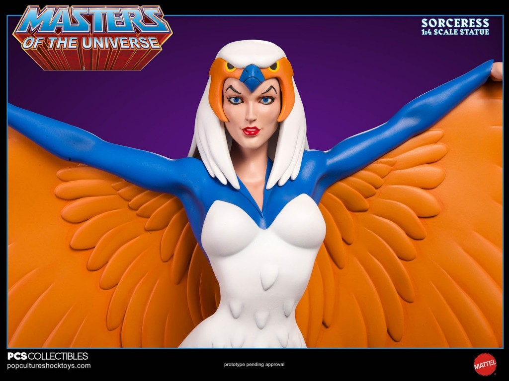 Pop Culture Shock Collectibles Masters of the Universe Sorceress Statue 05