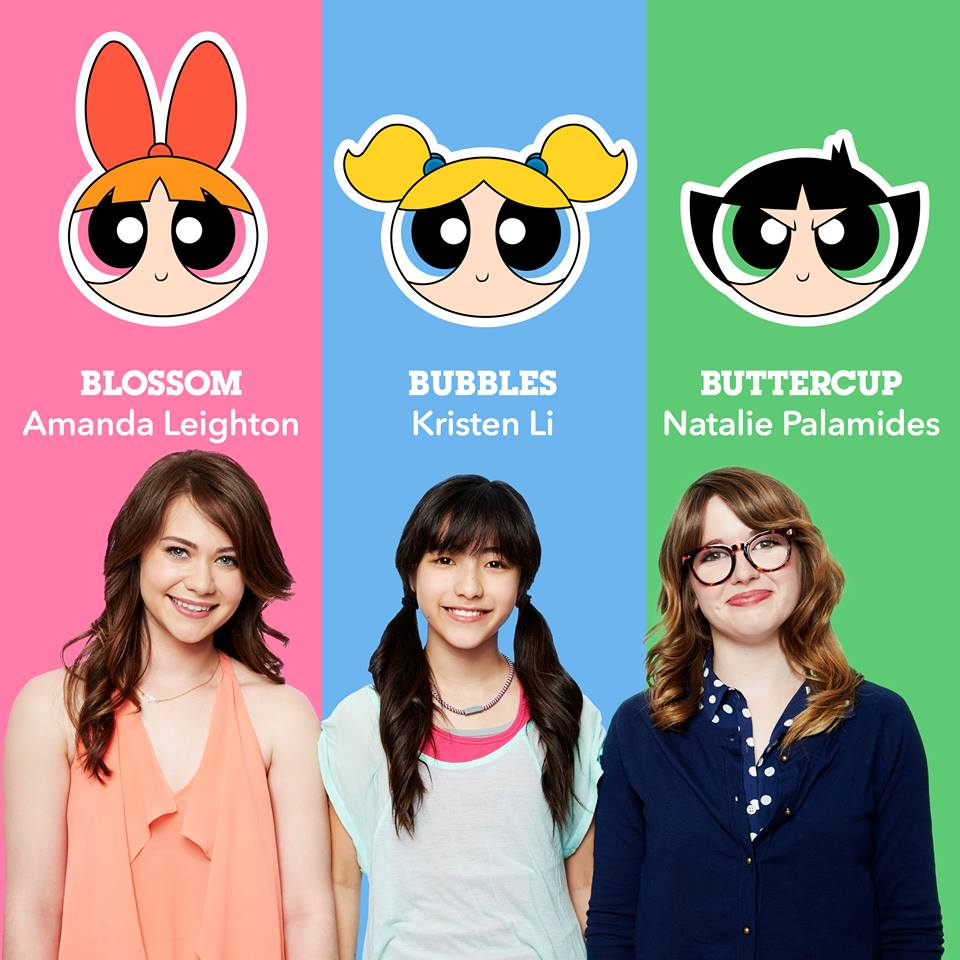 Power Puff Girls 2016