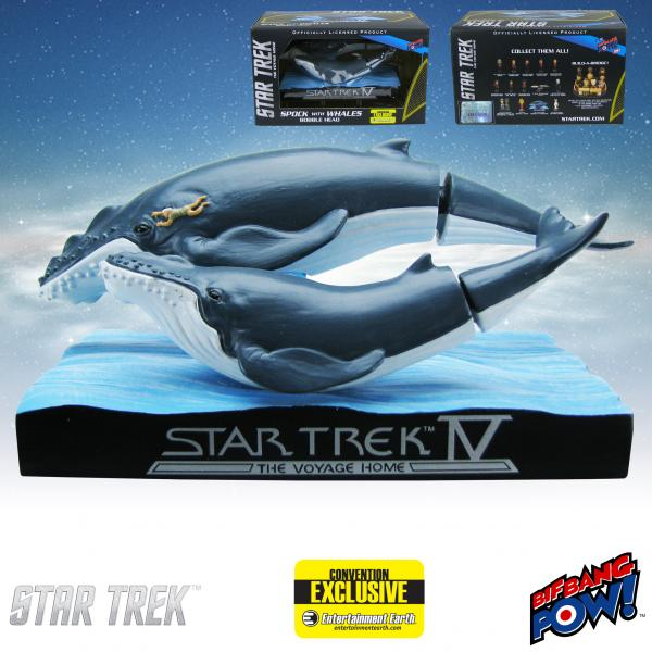 Star Trek IV Whales with Spock Bobble Head