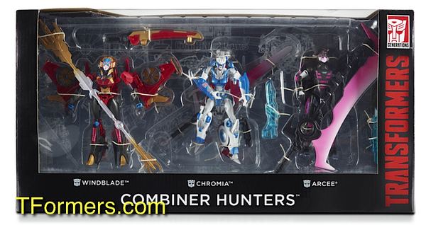 Transformers Generations Combiner Wars Female Combiner Hunters set7