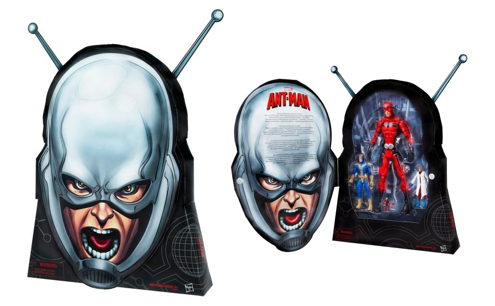 deluxe Ant-Man figure set