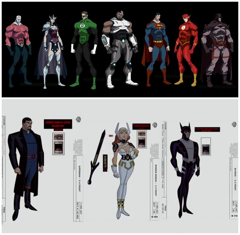 flashpoint paradox vs gods and monsters