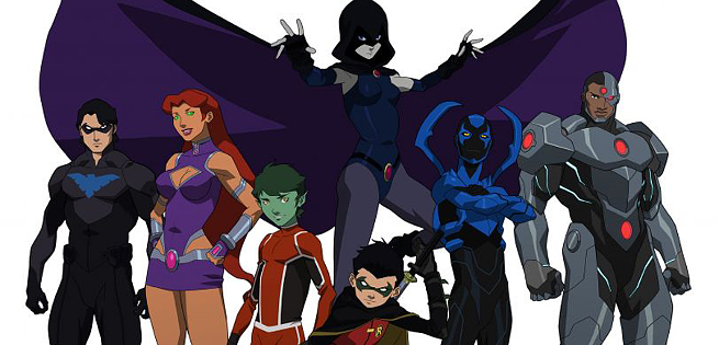 Clip Justice League vs. Teen Titans