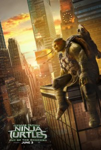 Postere individuale Teenage Mutant Ninja Turtles: Out of the Shadows