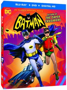 Trailer si coperta Batman: Return of the Caped Crusaders