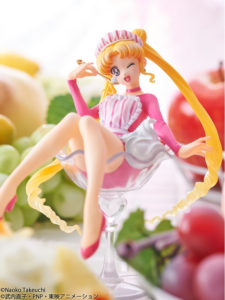 "Megahouse lanseaza figurina Sailor Moon ""Tsukino Usagi Fruit Parlor"""
