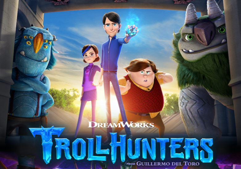 """""""Trollhunters"""" are trailer!"""