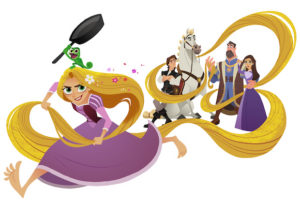 "Primul trailer ""Tangled The Series"""