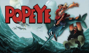"Prima imagine din noul film 3D ""Popeye"""