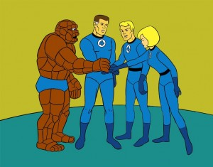 The Fantastic Four in animatie